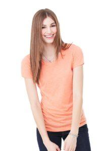 bella_8413_orange_triblend